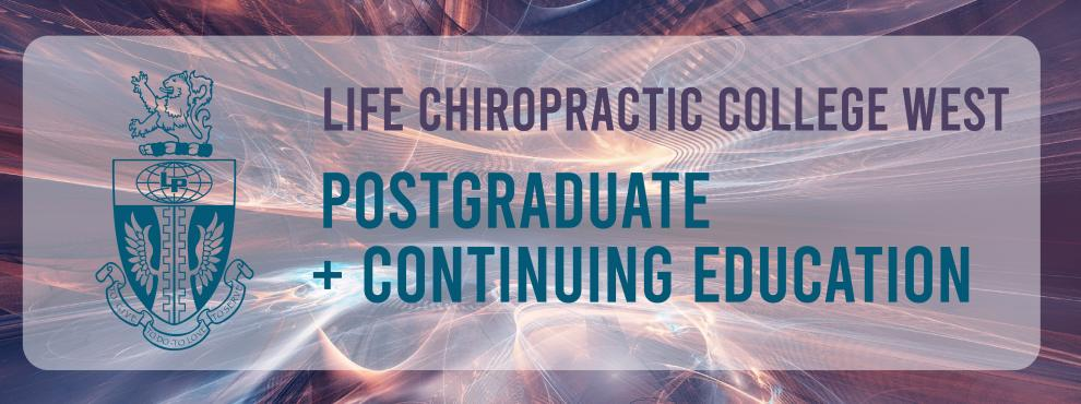 Life West Postgraduate & Continuing Education